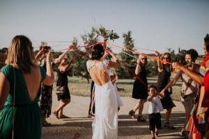 un photographe à Toulouse pendant un mariage