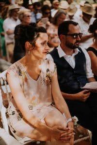 l'émotion d'une cérémonie d'un mariage à Toulouse