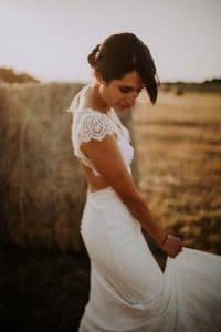 une mariée toulousaine