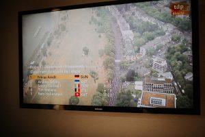 une télé du tour de France