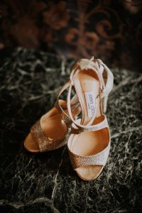des chaussures Jimmy Choo