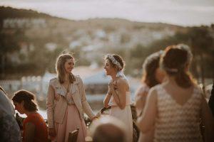 un mariage au bord de mer