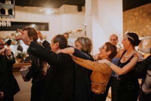 une fête lors d'un mariage à Toulouse