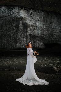 une mariée en Islande