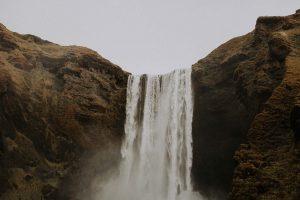 une magnifique cascade islandaise