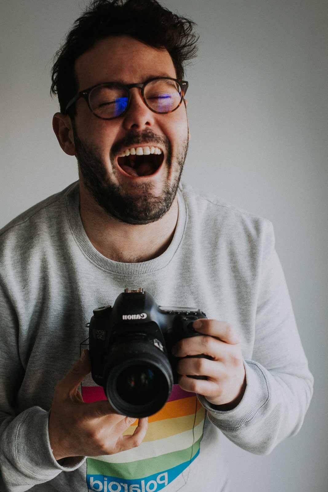 Un photographe à Toulouse