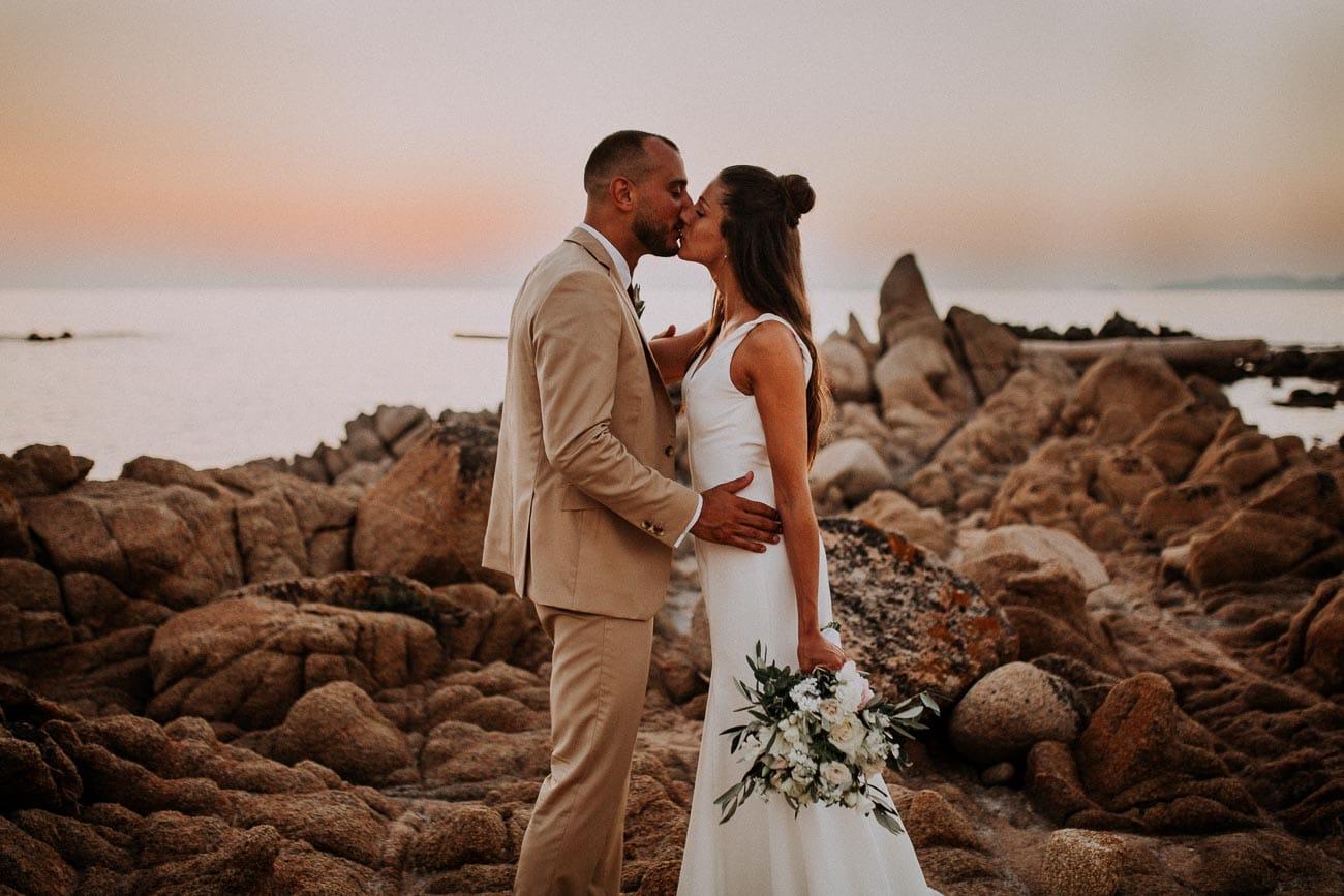mariage dans un domaine en corse